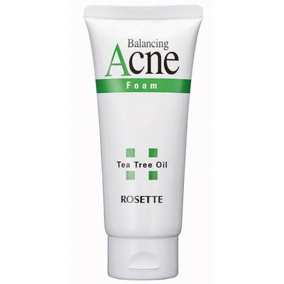 Пенка для умывания для проблемной кожи Rosette Acne Foam с натуральным маслом чайного дерева, 120 мл