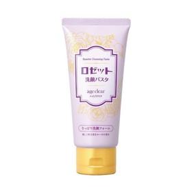 Пенка для умывания для нормальной и жирной кожи Rosette age clear с яичной скорлупой, ароматом розы, для зрелой кожи, 120 мл
