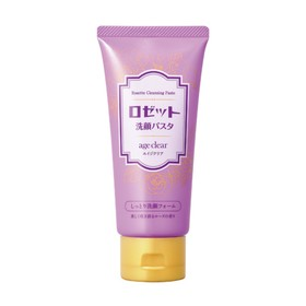 Пенка для умывания для сухой кожи Rosette age clear с яичной скорлупой, ароматом розы, для зрелой кожи, 120 мл