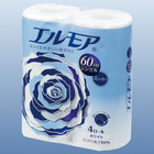 Ароматизированная туалетная бумага Kami Shodji Ellemoi, 60 м, 4 рулона