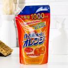 Средство для мытья посуды, овощей и фруктов Mitsuei с ароматом апельсина, 1 л