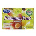 Соль для ванны на основе углекислого газа Fuso Kagaku Premium Fruits с тонизирующим эффектом и ароматом сочных фруктов, 12 таблеток по 40 г