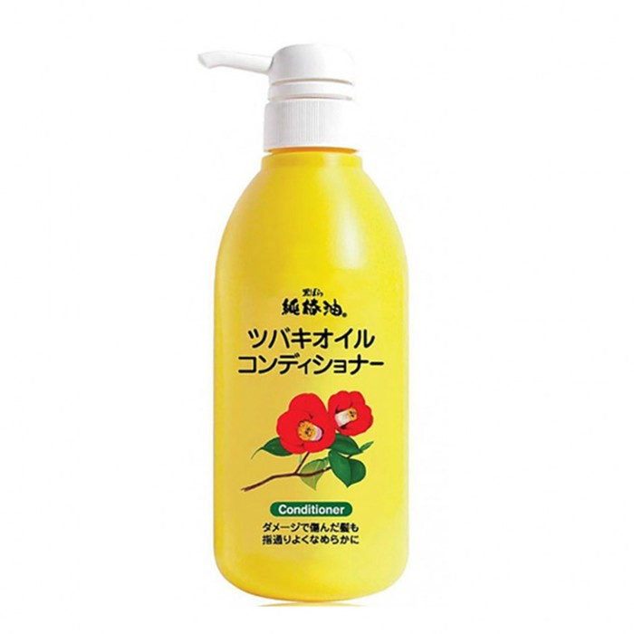 Кондиционер для восстановления поврежденных волос Kurobara Tsubaki Oil с маслом камелии, 500 мл
