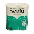 Туалетная бумага Nepia Premium Soft, 2 слоя, 30 м, 4 рулона