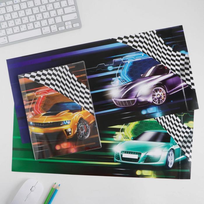 Обложка со вставками «Авто», 23.2 × 45 см