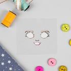 Термонаклейка для декорирования текстильных изделий «Кукла Надя», 6,5×6,3 см - Фото 2