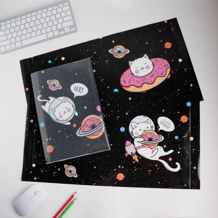 Обложка со вставками «Котики», 30 × 50 см