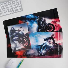 Обложка со вставками «Мото», 30 × 50 см Ош