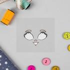 Термонаклейка для декорирования текстильных изделий «Кукла Вероника» 6,5х6,3 см - Фото 2
