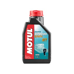 Моторное масло MOTUL Outboard 2T, 1 л Ош