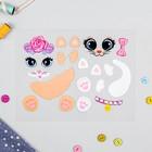 Термонаклейка для декорирования текстильных изделий «Кошечки», 20×15 см - Фото 2