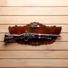 Сувенирное ружье на планшете с эмблемой Орёл, 57*25см