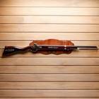 Сувенирное ружье на планшете, 100*20см