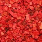 Щепа декоративная, красная 20л.