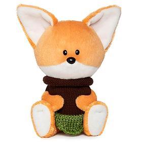 Мягкая игрушка «Лисичка Лика» в платье, 15 см