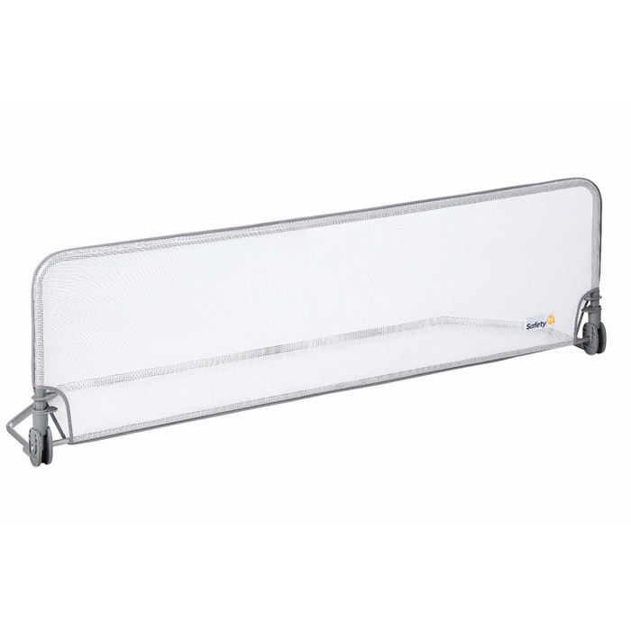 Барьер на кровать Safety 1st Extra large Bed rail, 150 см, цвет белый/серый