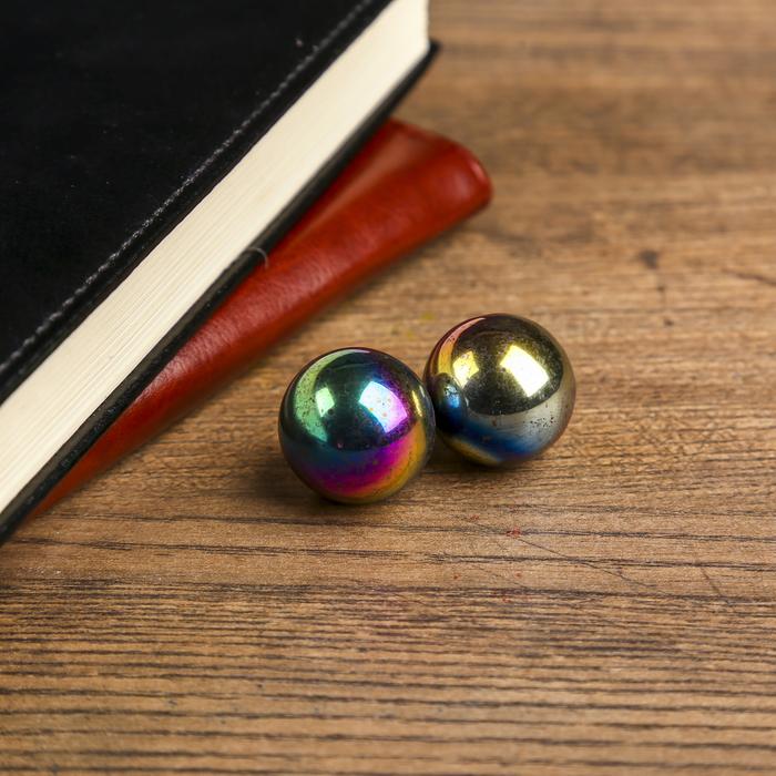 Магнитные шары Бензиновые набор 2 шт 2,5 см