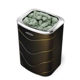 Печь для бани электрическая «Примавольта», 9 кВт, цвет чёрная бронза Ош