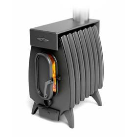 Печь отопительно-варочная «Огонь-батарея 7 Лайт», дровяная, цвет антрацит Ош