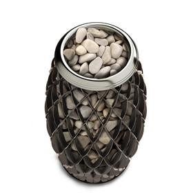 Печь для бани электрическая «Мэри Экс», 6 кВт, цвет чёрная бронза Ош