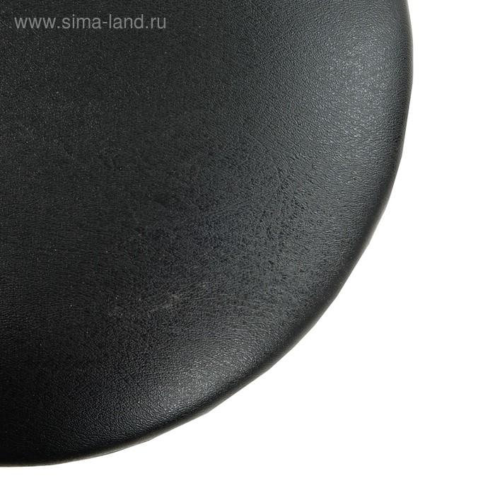 """Табурет """"Ультра"""" с кольцом,Черный/Черный"""