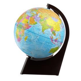 Глобус Земли политический, диаметр 210 мм, треугольная подставка