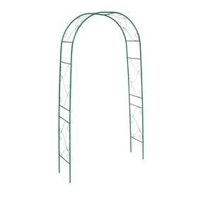 Арка садовая, разборная, 240 × 120 × 36 см, металл, зелёная, «Вьюнок» Ош