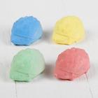 """Мелки для рисования """"Ежики"""" набор 4 цвета,в пакете"""