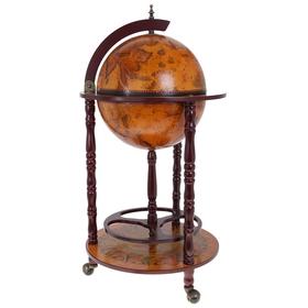 Глобус-бар декоративный напольный малый Ош