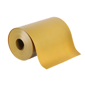 Лента бордюрная, 0.2 × 10 м, толщина 1.2 мм, пластиковая, жёлтая, Greengo Ош