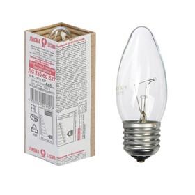 """Лампа накаливания """"Лисма"""", ДС, 60 Вт, E27, 230 В"""