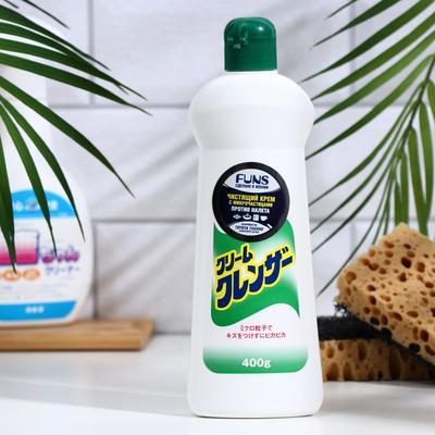 Чистящее средство для кухни, ванны и туалета Funs, универсальное, с микрочастицами, 400 г - Фото 1