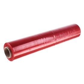 Стретч-пленка, красный, 500 мм х 217 м, 2 кг, 20 мкм Ош