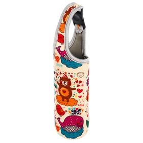 Термосумка «Счастье», для бутылочки до 330 мл, цвет бежевый Ош