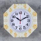 "Часы настенные, серия: Классика, ""Цветы"", 19х19х3 см , микс"