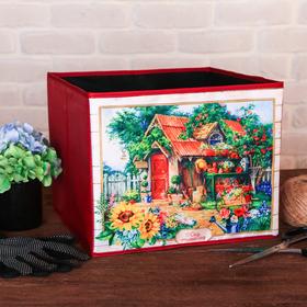 Органайзер для хранения «Милый сад», 30 × 25 см Ош