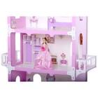 Домик для кукол «Коттедж Екатерина» с мебелью, цвет бело-розовый - Фото 3