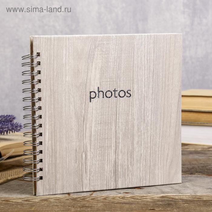 Фотоальбом Innova Q1209965  20х20см, 20листов, дуб, под уголки (6/576)