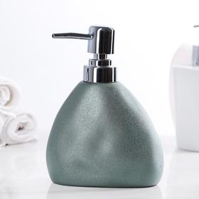 Дозатор для жидкого мыла 'Мужской', цвет металлик Ош