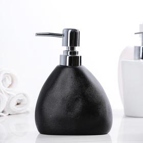 Дозатор для жидкого мыла 'Мужской', цвет чёрный Ош