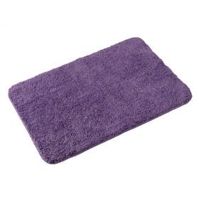 Мягкий коврик Purple, 80х50 см