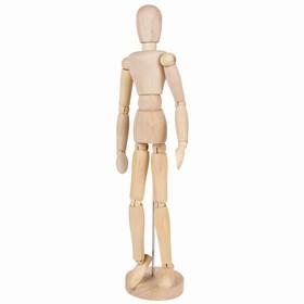 Деревянная фигура «Женщина», высота 30 см, BRAUBERG Ош