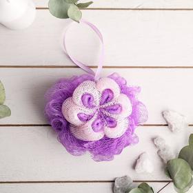 Мочалка для тела Cupellia SPA «Цветок», цвет МИКС