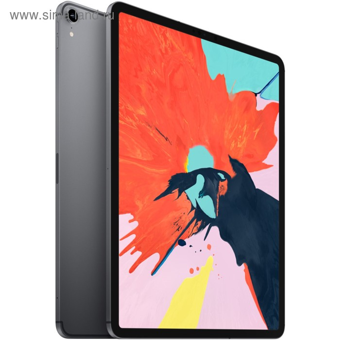 "Планшет Apple iPad Pro (MTHJ2RU/A), 12.9"", 64 Гб, Wi-Fi + Cellular, серый"