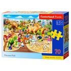 Пазл 70 элементов «Парк динозавров»
