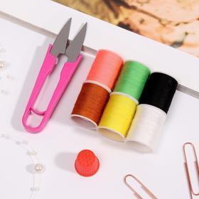 Набор для шитья в коробке, цвет МИКС Ош