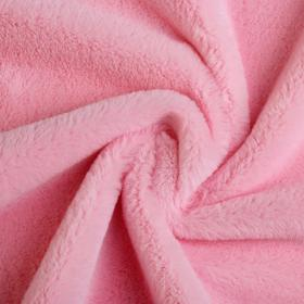 Мех искусственный, размер 40×50 см, цвет нежно розовый Ош