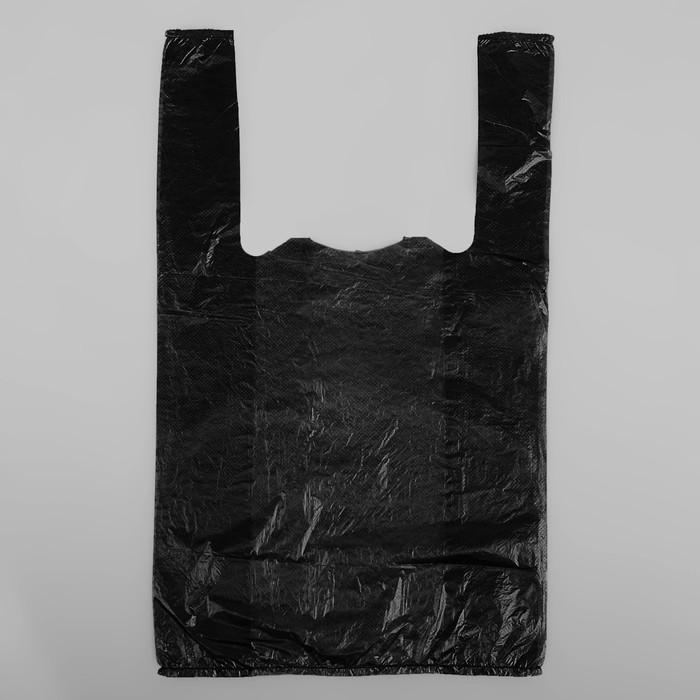Пакет Супер, полиэтиленовый, майка, 25 х 45 см, 10 мкм
