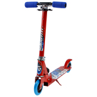 Самокат складной GRAFFITI, колёса PVC d=100 мм, цвет красный