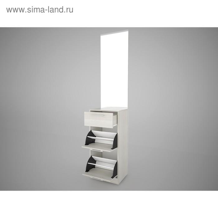Модуль с зеркалом Камея EVO №6 450х352х2132 Сосна Карелия